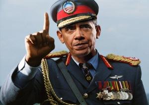 O in uniform