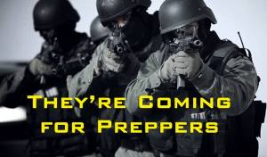 COMING FOR PREPPERS