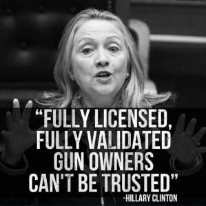 hillary vs guns
