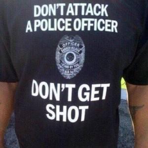 don't get shot