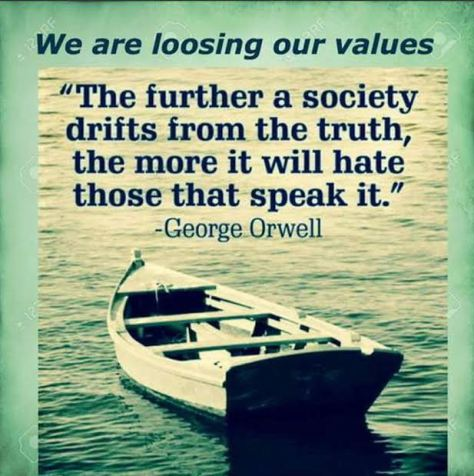 orwell the truth