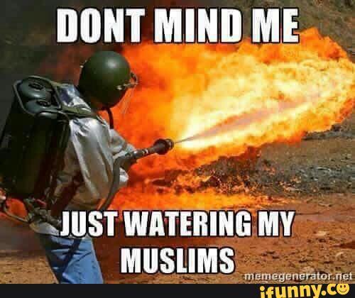 watering muslims