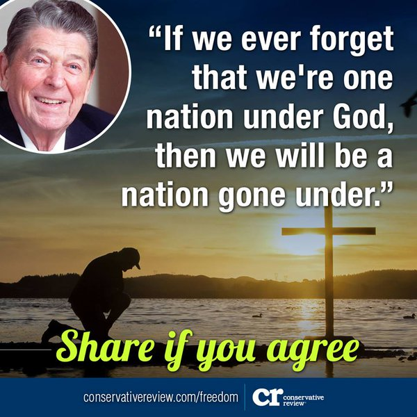 Reagan nation God