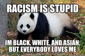 racism panda