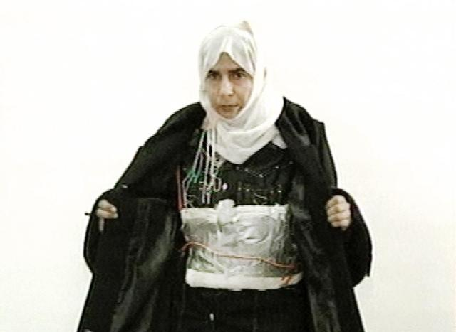 under the burka
