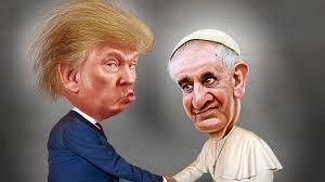trump-pope