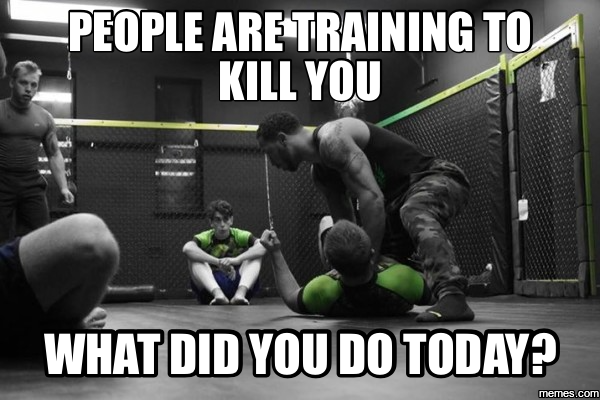 training to kill you