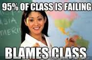 class failing