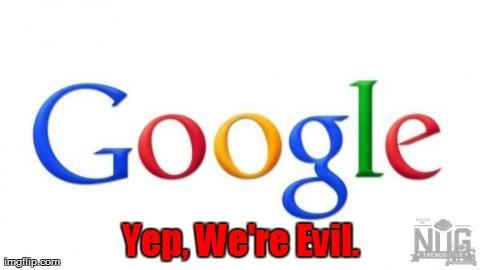 Bildergebnis für google is evil