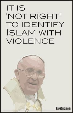 pope muslim violence