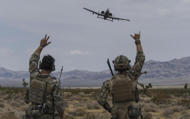 JTAC, A-10s train to maintain readiness