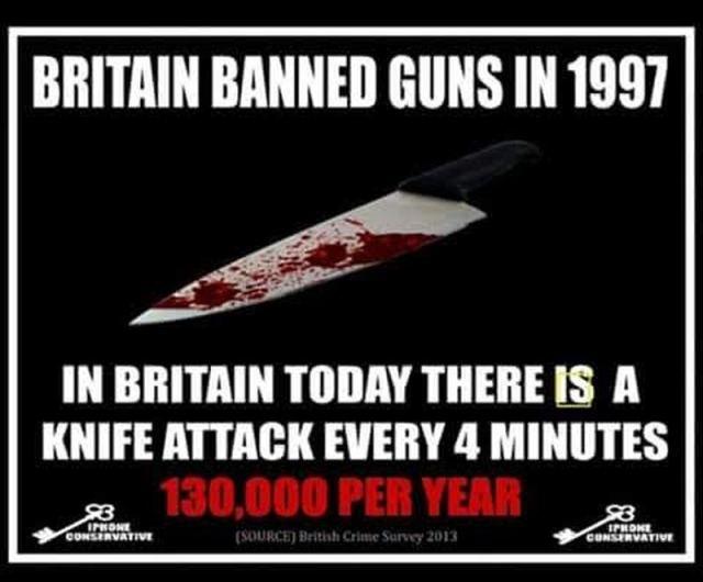 british gun ban