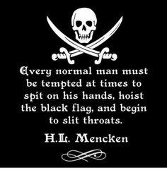 black flag - Mencken