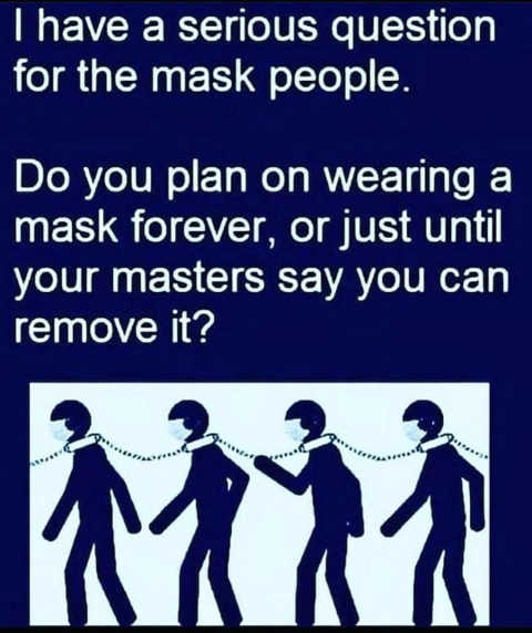 When the Threat of Free Thinking Goes Away, We Can Take The Masks Off Bc2bf-serious-question-wear-mask-forever-or-just-until-masters-say-you-can-remove-chain-collar